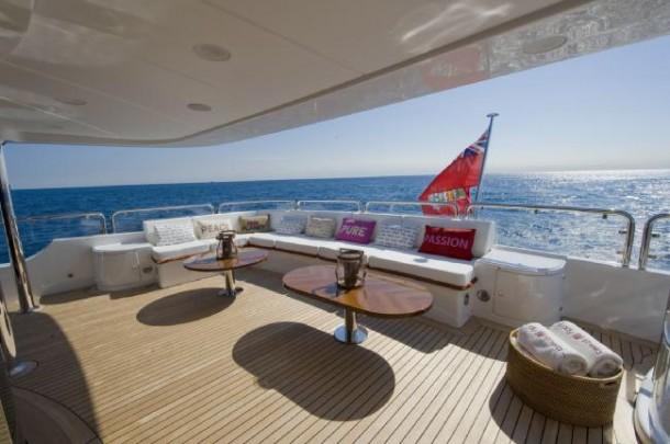 LADY SHEILA -  deck 2